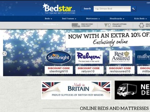 Bedstar website