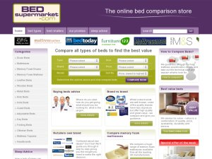 Bedsupermarket website