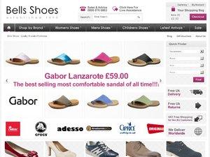 Bells Shoes  website