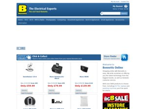 Bennetts Electrical website