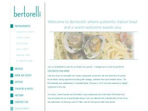 Bertorelli website