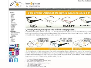 Best4Glasses website