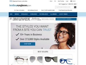 BestBuyEyeGlasses.com website