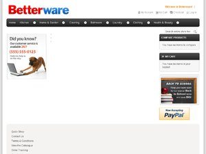 Betterware website
