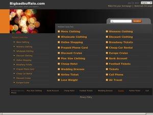 Big Bad Buffalo website