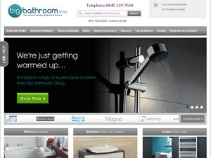 Big Bathroom Shop website