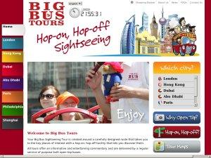 Big Bus Company website