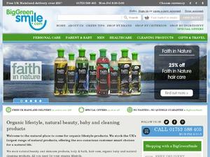 Big Green Smile website