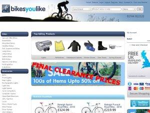 BikesYouLike website