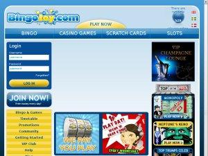 Bingo Joy website