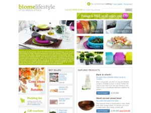 Biome Lifestyle website