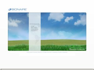 BIONAIRE website