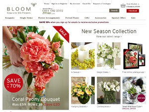 bloom.uk.com website