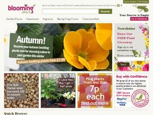 Blooming Direct website