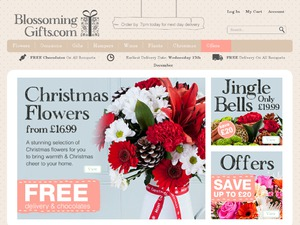 Blossoming Gifts website