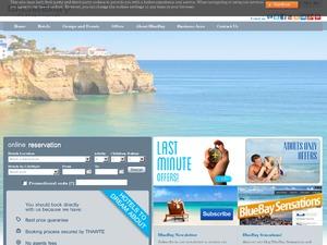 BlueBay Hotels & Resorts website
