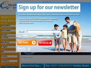 Blue Sea Holidays website