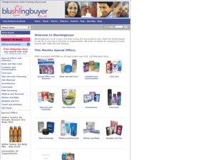 Blushing Buyer website