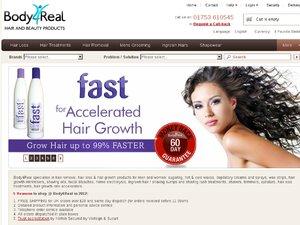 Body4Real website