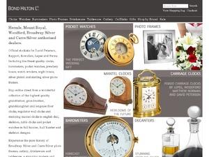 Bond Hilton website