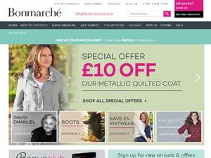 Bonmarche website