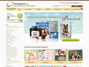 Bonnyprints.co.uk website