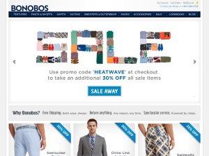 Bonobos website