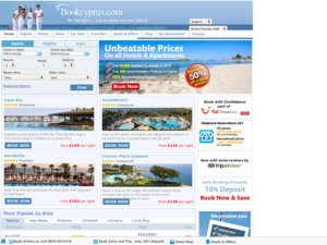 Book Cyprus website