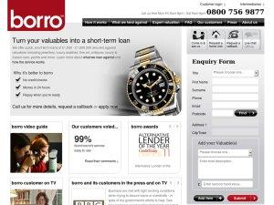 BORRO website