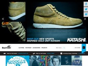 Boxfresh website