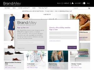 Brand Alley website