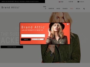 Brand Attic website