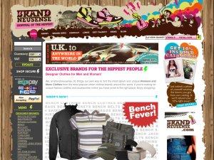 Brand Neusense website