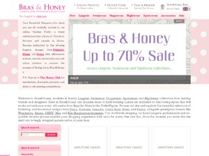 Beau Dame Lingerie website
