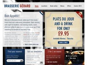 BrasserieGerard website