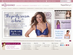 Bravissimo website