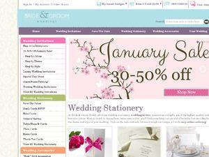 Bride and Groom website