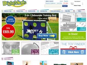 BrightMinds website