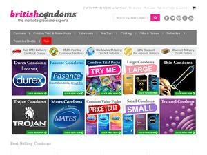 British Condoms website