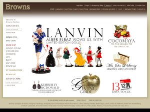Browns website
