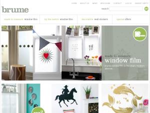 Brume website