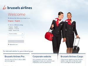 Brussels Airlines website