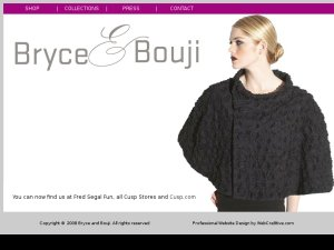 Bryce and Bouji website