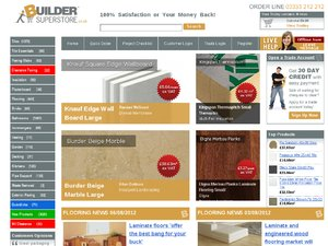 Builder Superstore website
