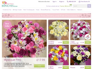 Bunches website