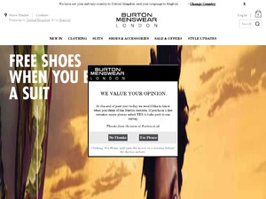 Burton website