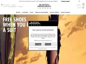 Burton website