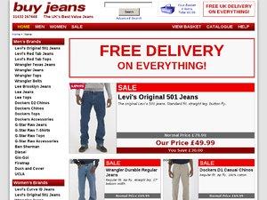 Buy Jeans website
