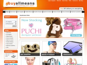Buy All Means website