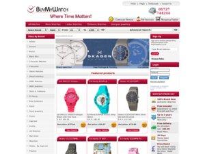 Buy My Watch website